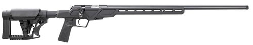"CZ 457 Varmint Precision Chassis, Bolt Action, 22 LR, 24"" Threaded 1/2x28 Barrel, Black, Adjustable Stock, 5rd mag"