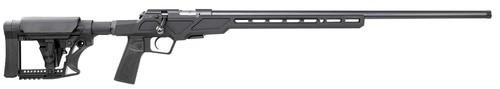 "CZ 457 Varmint Precision Chassis, 22 LR, 24"" Threaded 1/2x28 Barrel, Black, Adjustable Stock, 5rd mag"