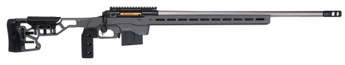 """Savage 110 Elite Precision, 338 Lapua, 30"""" Stainless Steel Barrel, Gray MDT Chassis, 5Rd, *NO MUZZLE BRAKE INCLUDED*"""