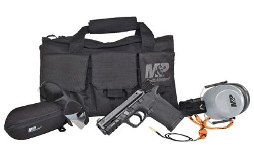 "Smith & Wesson M&P Shield EZ Bundle 380 ACP, 3.68"" Barrel, Black Armornite Stainless, 8rd"