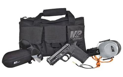 "Smith & Wesson M&P Shield EZ Bundle 380 ACP, 3.68"" Barrel, Black Armornite Stainless, 8rd"