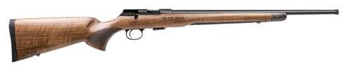 "CZ 457 Royal .22 LR, 20.5"" Threaded Barrel, Nitride, Walnut Stock"