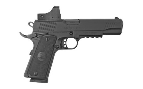 "Girsan MC1911S .45 ACP, 5"" Barrel, 5 MOA Optic, Black, 8rd"