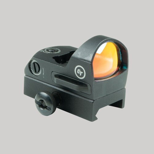 Crimson Trace Reflex Sight, 3.5 MOA Red Dot, Black Color