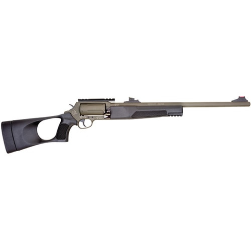 "Rossi Circuit Judge, Double Action, 410 Ga 3"", 45 Long Colt, 18.5"" Barrel, Green, Synthetic Stock, Adjustable Sights, 5Rd"