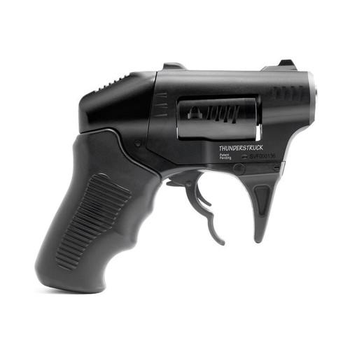 "Standard Manufacturing Thunderstruck Double Action Revolver, 22 WMR, 1.25"" Steel Barrel, Aluminum Frame, Black, Polymer Grips, 8Rd"