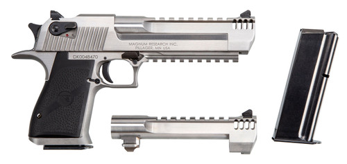 "Magnum Research Desert Eagle Mk XIX 50 AE/429 DE Combo, 6"", Stainless, 7rd"