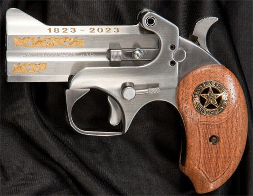 "Bond Arms Texas Ranger 200th Anniversary .45 Colt/410 Ga, 3.50"", Gold Leafing, SS, 2rd"