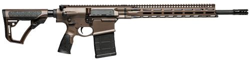 "Daniel Defense DD5 V4 762X51, 18"" CHF Barrel, 1:11"" Twist, 5/8X24"" Thread, Brown Finish, Daniel Defense Furniture, M-LOK Rail, Fully Ambidextrous Controls, Grip-N-Rip Charging Handle, 1 20Rd PMAG"