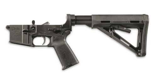 Anderson AM-15 Complete Lower, Magpul Parts Kit, Magpul Buttstock, Buffer Tube, Black