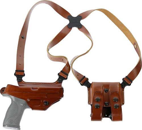 Galco Miami Classic Shoulder System Sig P320 Full Steerhide Tan