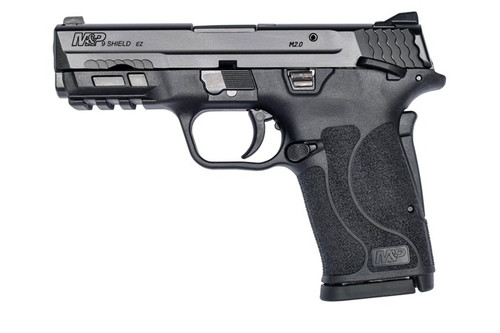 """Smith & Wesson M&P Shield EZ M2.0 Compact 9mm, 3.675"""" Barrel, Black, Manual Safety, 8rd"""