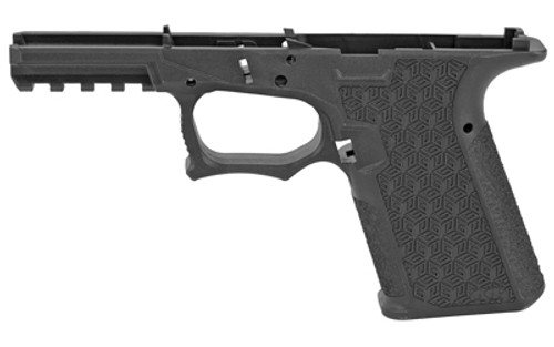 Grey Ghost Precision Stripped Polymer Pistol Frame, Compact Size, Black