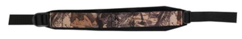 Butler Creek Comfort Stretch Rifle Sling With Sewn-In Swivels, Realtree AP Camo