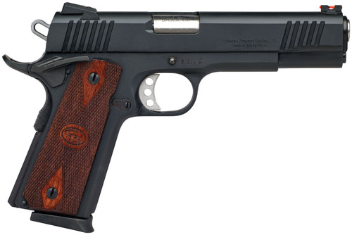 "Chiappa 1911 Superior .45 ACP, 5"" Barrel, Walnut Grips, Black, 8rd"