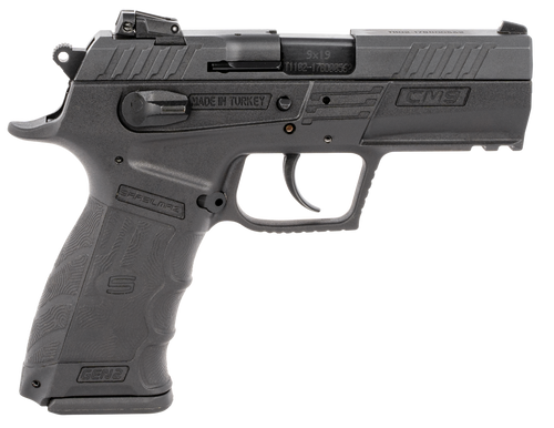 "SAR USA CM9 9mm, 3.8"" Barrel, Polymer Frame, Black, 2x17rd Mags"