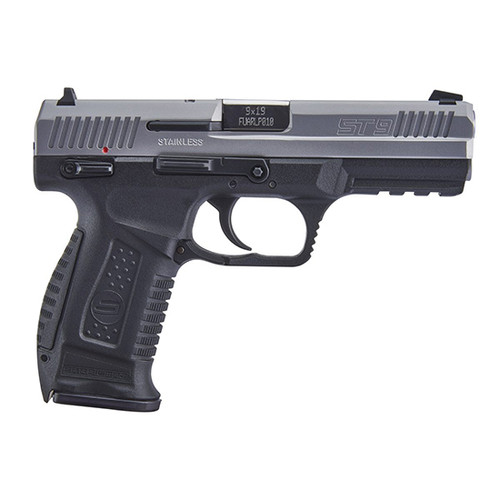 SAR USA ST9 9mm, Stainless Steel, 17rd