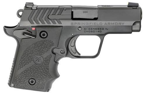 "Springfield 911 9mm, 2.70"" Barrel, G10 Grips, Black Nitride, 6rd/7rd"