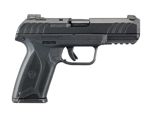 "Ruger Security-9 Pro 9mm, 4"" Barrel, Fixed Sights, Blued/Black, 15rd"