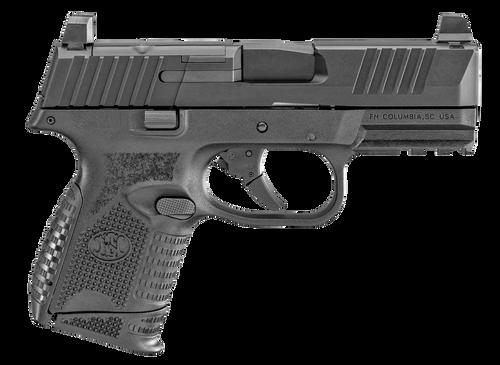 "FN 509 Compact MRD 9mm, 3.7"" Barrel, FN Optics Mounting System, Black, 2x 10rd"