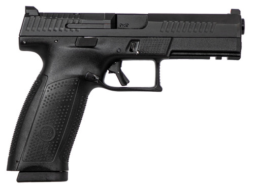"CZ P-10 Full Size Optics Ready 9mm, 4.5"" Barrel, Black, 10rd"
