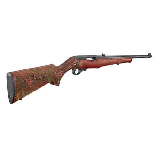 "Ruger 10/22 Dragon TALO .22 LR, 18.5"" Barrel, Red Laminate Stock, 10rd"