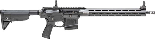 "Springfield SAINT VICTOR AR-10, 308 Winchester, 16"" Lightweight Profile Barrel, 1:10"" Twist, Black, Bravo Company 6-Position Stock, Bravo Company Mod.3 Grip, 1 Mag, 10Rd, 15"" M-LOK Rail, Front/Rear Flip Sights"