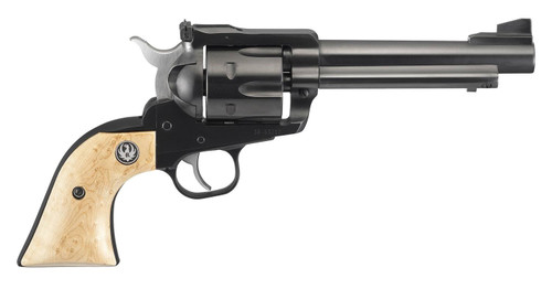 "Ruger Blackhawk .357/9mm, 5.5"" Barrel, Maple Birds Eye Grip, Blued, 6rd"