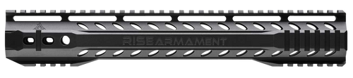 Rise Armament Slimline Handguard, Black, Fits AR Rifles, 11.5""