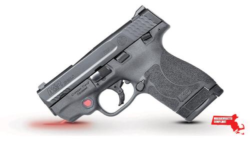 """Smith & Wesson M&P 9 Shield M2.0 9mm, *MA*, 3.1"""" Barrel, Crimson Trace Laser, Black, 7rd/8rd"""