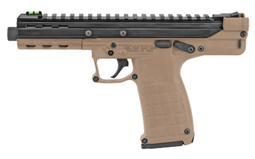 "Kel-Tec CP33 22 LR, 5.5"" Barrel, Fiber Optic Sights, Desert Tan, 33rd"
