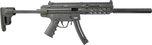 "American Tactical, GSG-16 22 LR, 16.25"" Barrel, Black, Synthetic, M-Lok Handguard, 22Rd"