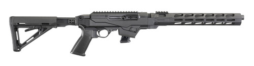 "Ruger PC Carbine 9mm, 16.12"" Barrel, Picatinny Rail, Black, 10rd"