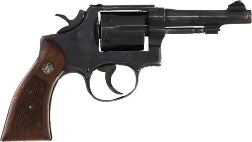 """Smith & Wesson M10-5 .38 Spl 4"""" Barrel,  Used Police Surplus, Good Condition, Grips Vary"""
