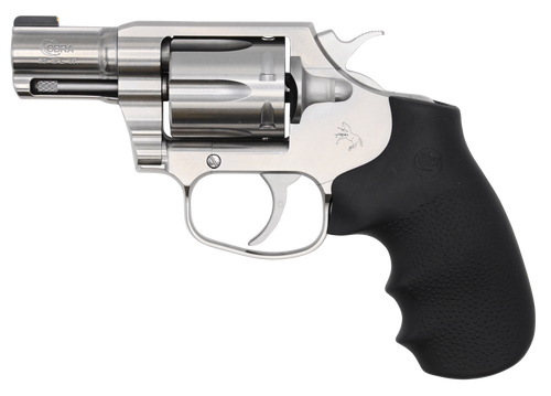 "Colt Cobra SS Revolver, 38 Special, 2"" Barrel, Stainless Finish, Rubber Grips, 6Rd"