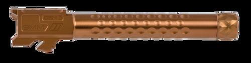 ZEV Technologies Optimized Barrel, 9mm, Bronze, Threaded, Glock 17 Gen 5