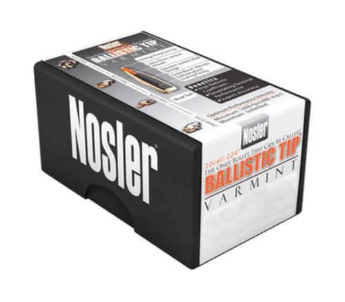 Nosler Ballistic Tip Varmint Bullets .204 Diameter 32 Grain Spitzer 100 Per Box