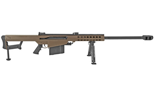 "Barrett M82A1 .50 BMG, 29"" Fluted Barrel, Coyote/Black, 10rd"