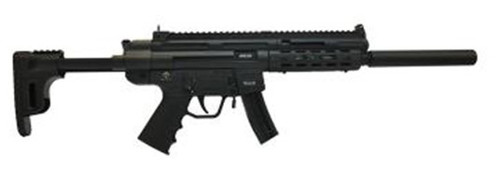 "GSG GSG-16 .22 LR, 16.25"" Barrel, Black Collapsible Stock, 10rd"