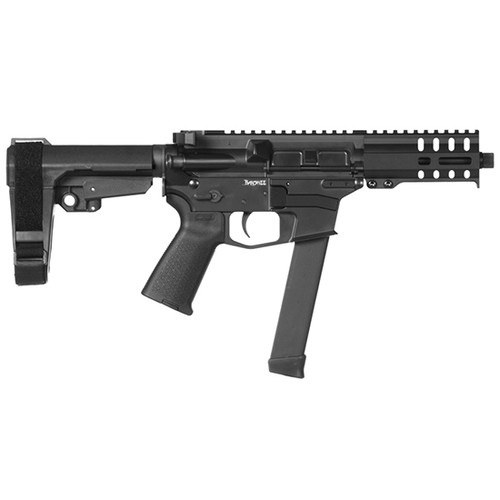 "CMMG Banshee 300 MKGS 9mm, 5"" Barrel, Burnt Bronze, Black Magpul, RipBrace, 33rd"