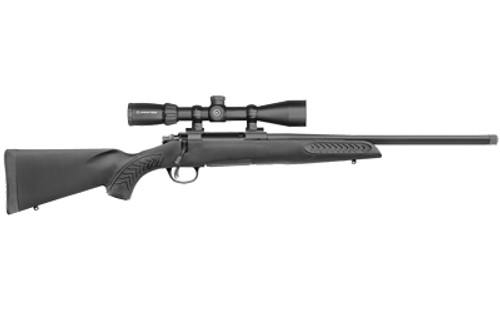 "Thompson Center Compass II Compact Scoped 243 Winchester, 16.5"" Threaded Barrel, Black, Synthetic Stock, 5rd"