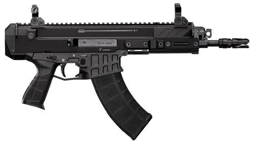 "CZ Bren 2 MS AR Pistol 7.62x39mm, 14.17"" Barrel, Folding Sights, Black, 30rd"