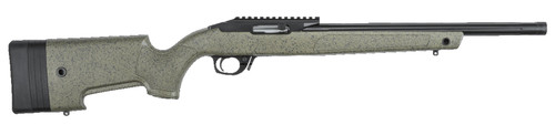 "Bergara BXR .22 LR, 16.5"" Barrel, Right-Handed, Black, Green W/ Specks, 10rd"