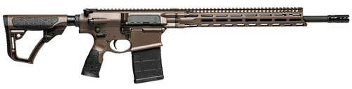 "Daniel Defense DD5 V4 6.5 Creedmoor, 18"" CHF Barrel, M-Lok, Brown, 20rd"