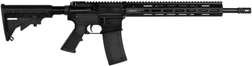 "Troy SPC-A3 5.56/.223, 16"" Barrel, M4 Adjustable Stock, Black, 30rd"