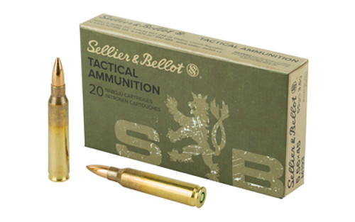 Sellier & Bellot 5.56mm NATO 55Gr, Full Metal Jacket, 20rd Box