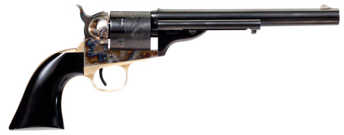 "Taylors Cavalier Open-Top .38 Spl, 7.50"" Barrel, Black/CH, 6rd"
