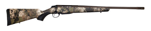 """Tikka T3x Lite300 Win Mag, 24.38"""" Fluted Barrel, 1:11 Twist, Threaded 5/8x24, Veil Wideland Camo, Cerakote Barrel and Action, Burnt Bronze Color, 1 Mag, Includes Matching Muzzle Brake, 3rd"""
