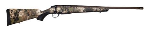 "Tikka T3x Lite 6.5 Creedmoor, 24"" Fluted Barrel, Veil Wideland Camo, Synthetic Stock, Cerakote Burnt Bronze Color, 3Rd, 1 Mag, Includes Matching Muzzle Brake"