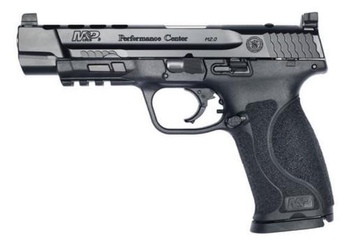 """Smith & Wesson M&P M2.0 C.O.R.E. Performance Center 9mm, 5"""" Barrel, Black, 17rd"""